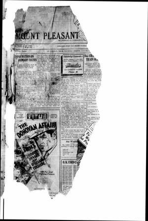 Primary view of object titled 'Mount Pleasant Daily Times (Mount Pleasant, Tex.), Vol. 11, No. [254], Ed. 1 Wednesday, January 1, 1930'.