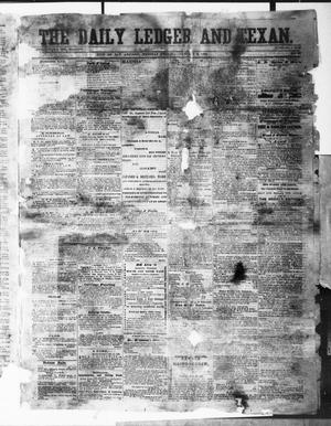 Primary view of object titled 'The Daily Ledger and Texan (San Antonio, Tex.), Vol. 1, No. 27, Ed. 1, Tuesday, January 3, 1860'.