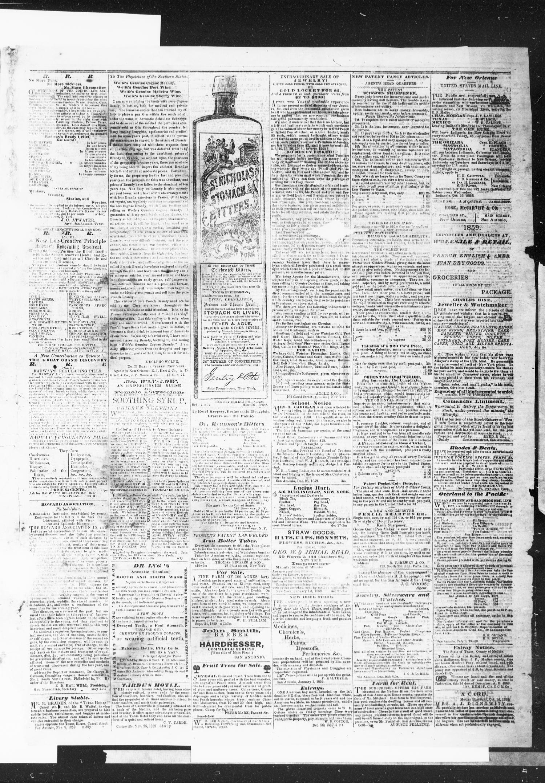 The Daily Ledger and Texan (San Antonio, Tex.), Vol. 1, No. 33, Ed ...
