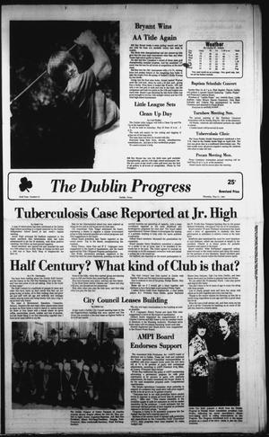Primary view of object titled 'The Dublin Progress (Dublin, Tex.), Vol. 93, No. 42, Ed. 1 Thursday, May 21, 1981'.