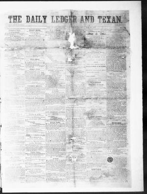Primary view of object titled 'The Daily Ledger and Texan (San Antonio, Tex.), Vol. 1, No. 128, Ed. 1, Wednesday, May 23, 1860'.