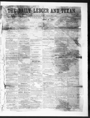 Primary view of object titled 'The Daily Ledger and Texan (San Antonio, Tex.), Vol. 1, No. 200, Ed. 1, Thursday, September 6, 1860'.