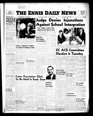 Primary view of object titled 'The Ennis Daily News (Ennis, Tex.), Vol. 64, No. 202, Ed. 1 Friday, August 26, 1955'.