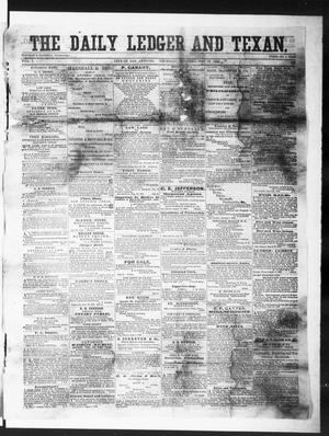 Primary view of object titled 'The Daily Ledger and Texan (San Antonio, Tex.), Vol. 1, No. 332, Ed. 1, Thursday, November 15, 1860'.