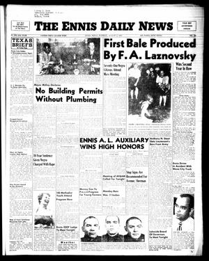 Primary view of object titled 'The Ennis Daily News (Ennis, Tex.), Vol. 64, No. 181, Ed. 1 Tuesday, August 2, 1955'.