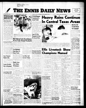 Primary view of object titled 'The Ennis Daily News (Ennis, Tex.), Vol. 64, No. 226, Ed. 1 Saturday, September 24, 1955'.