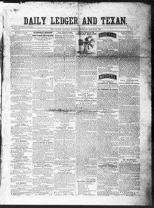 The Daily Ledger and Texan (San Antonio, Tex.), Vol. 2, No. 405, Ed. 1, Thursday, March 28, 1861