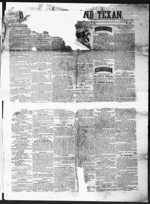 Primary view of object titled 'The Daily Ledger and Texan (San Antonio, Tex.), Vol. 2, No. 415, Ed. 1, Monday, April 1, 1861'.