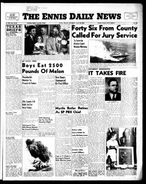 Primary view of object titled 'The Ennis Daily News (Ennis, Tex.), Vol. 64, No. 179, Ed. 1 Saturday, July 30, 1955'.