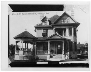 Primary view of object titled 'A. C. Jones Home'.