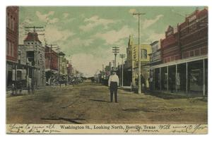 Primary view of object titled 'Beeville Main Street 1909'.