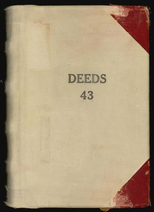 Primary view of object titled 'Travis County Deed Records: Deed Record 43'.