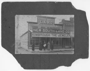 Primary view of object titled 'Kimbrough's Jewelry Store Early 1900's'.