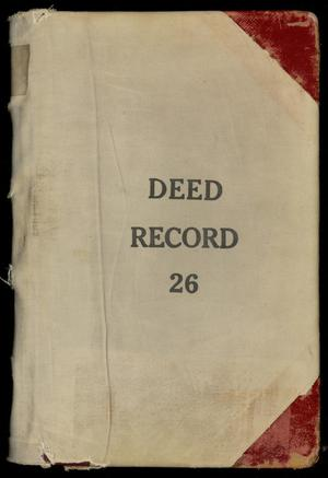 Primary view of object titled 'Travis County Deed Records: Deed Record 26'.