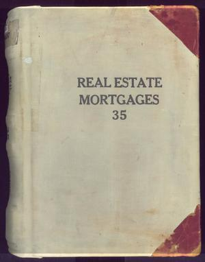 Primary view of object titled 'Travis County Deed Records: Real Estate Mortgages 35'.