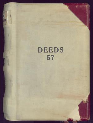 Primary view of object titled 'Travis County Deed Records: Deed Record 57'.