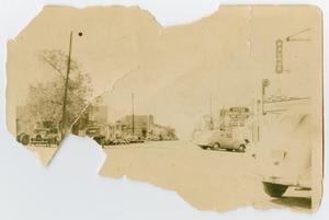Primary view of object titled '[Photograph of Downtown Grapevine]'.