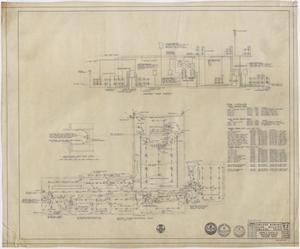 Primary view of object titled 'Abilene Womans Club Building, Abilene, Texas: Second Floor Electrical Plan'.