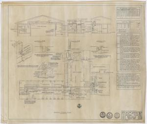 Primary view of object titled 'Abilene Womans Club Building, Abilene, Texas: Second Floor Heating and Air Conditioning Plan'.