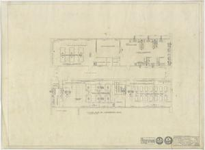 Primary view of object titled 'High School Building, Pecos, Texas: Floor Plan of Laboratory Wing'.
