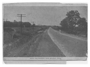 Primary view of object titled 'Along the Road in Bee County'.
