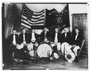 Primary view of object titled 'American Legion Orchestra'.