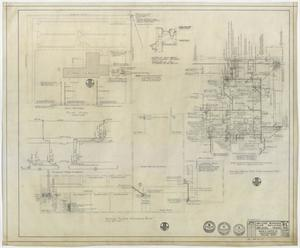 Primary view of object titled 'Abilene Womans Club Building, Abilene, Texas: Plumbing Plans'.
