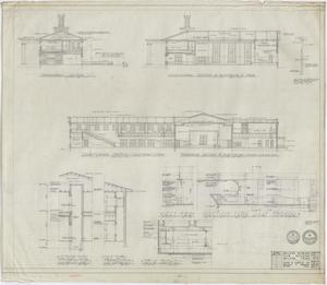 Primary view of object titled 'Abilene Womans Club Building, Abilene, Texas: Sections'.