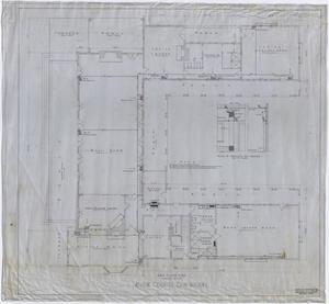 Primary view of object titled 'Abilene Country Club, Abilene, Texas: Main Floor Plan'.