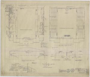 Primary view of object titled 'High School Gymnasium, Ozona, Texas: Heating Floor Plans'.