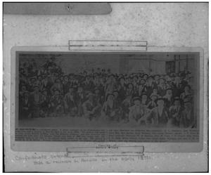 Primary view of object titled 'Confederate Veterans Reunion'.