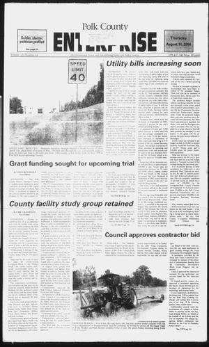 Primary view of object titled 'Polk County Enterprise (Livingston, Tex.), Vol. 124, No. 64, Ed. 1 Thursday, August 10, 2006'.