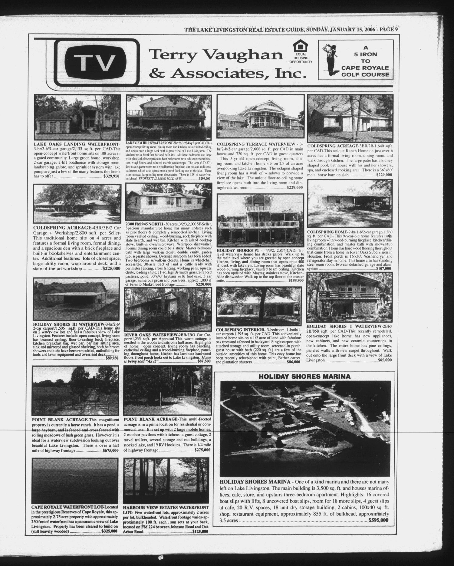 Polk County Enterprise (Livingston, Tex.), Vol. 124, No. 5, Ed. 1 Sunday, January 15, 2006                                                                                                      [Sequence #]: 29 of 60