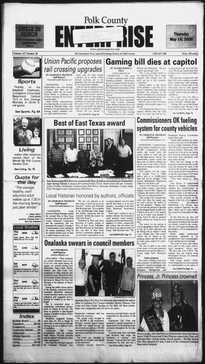 Primary view of object titled 'Polk County Enterprise (Livingston, Tex.), Vol. 127, No. 38, Ed. 1 Thursday, May 14, 2009'.