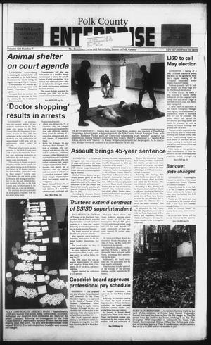 Primary view of object titled 'Polk County Enterprise (Livingston, Tex.), Vol. 124, No. 7, Ed. 1 Sunday, January 22, 2006'.