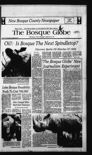 Primary view of object titled 'The Bosque Globe (Clifton, Tex.), Vol. 1, No. 1, Ed. 1 Thursday, December 3, 1981'.