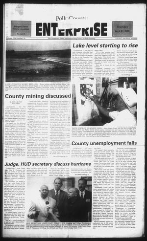 Primary view of object titled 'Polk County Enterprise (Livingston, Tex.), Vol. 124, No. 34, Ed. 1 Thursday, April 27, 2006'.