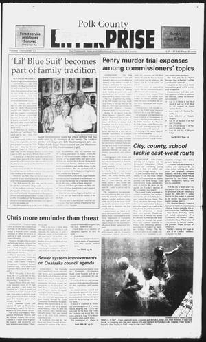Primary view of object titled 'Polk County Enterprise (Livingston, Tex.), Vol. 124, No. 63, Ed. 1 Sunday, August 6, 2006'.