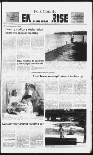 Primary view of object titled 'Polk County Enterprise (Livingston, Tex.), Vol. 124, No. 61, Ed. 1 Sunday, July 30, 2006'.