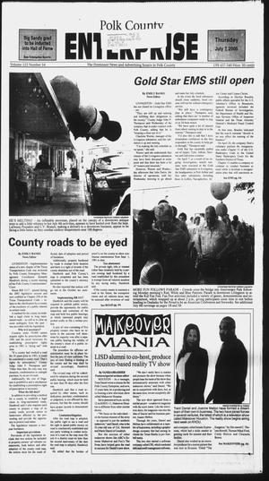 Primary view of object titled 'Polk County Enterprise (Livingston, Tex.), Vol. 123, No. 54, Ed. 1 Thursday, July 7, 2005'.