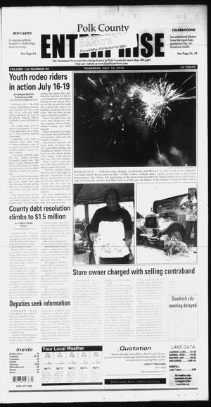 Primary view of object titled 'Polk County Enterprise (Livingston, Tex.), Vol. 132, No. 55, Ed. 1 Thursday, July 10, 2014'.