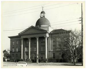 Primary view of object titled 'Bee County Courthouse 1912'.