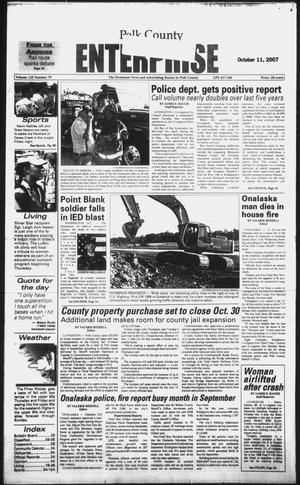 Primary view of object titled 'Polk County Enterprise (Livingston, Tex.), Vol. 125, No. 79, Ed. 1 Thursday, October 11, 2007'.
