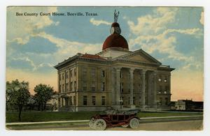 Primary view of object titled 'Bee County Courthouse, 1912'.