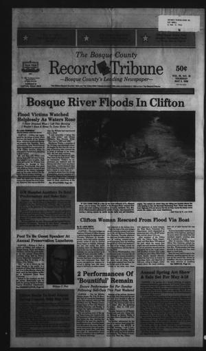 Primary view of object titled 'The Bosque County Record Tribune (Clifton, Tex.), Vol. 95, No. 18, Ed. 1 Thursday, May 3, 1990'.