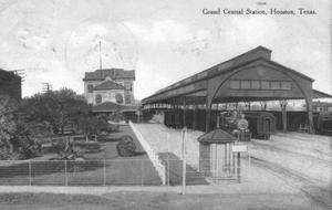 Primary view of object titled '[Grand Central Station in Houston, Texas]'.