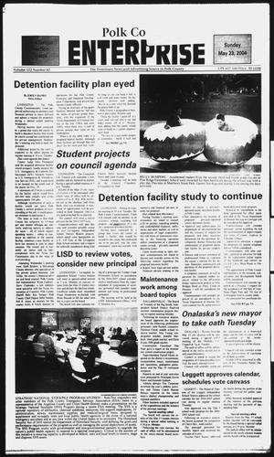 Primary view of object titled 'Polk County Enterprise (Livingston, Tex.), Vol. 122, No. 42, Ed. 1 Sunday, May 23, 2004'.