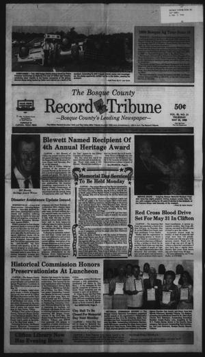 Primary view of object titled 'The Bosque County Record Tribune (Clifton, Tex.), Vol. 95, No. 21, Ed. 1 Thursday, May 24, 1990'.
