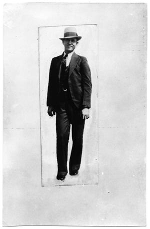 Primary view of object titled '[Clyde Barrow Full Body Shot]'.