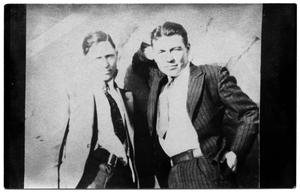 Primary view of object titled '[Clyde Champion Barrow and W.D. Jones]'.